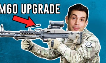 Is the new M60E6 machine gun better than the M240?
