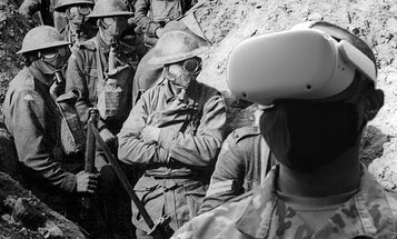This VR tour takes you into the trenches of WWI, but stops short of leaving you 'fully traumatized'