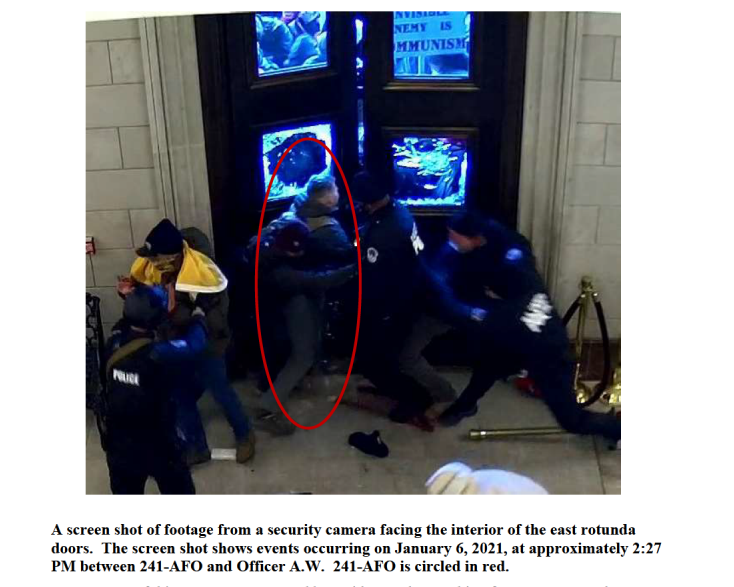 US Marine officer arrested for assaulting federal officer at Jan. 6 Capitol riots [Updated]