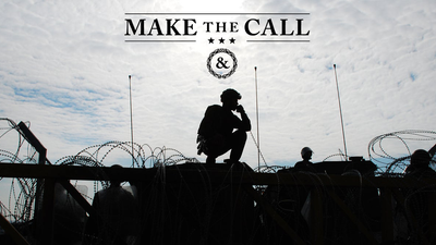 Make the Call – stories of community, connection and a pledge to reach out to your brothers and sisters in arms.