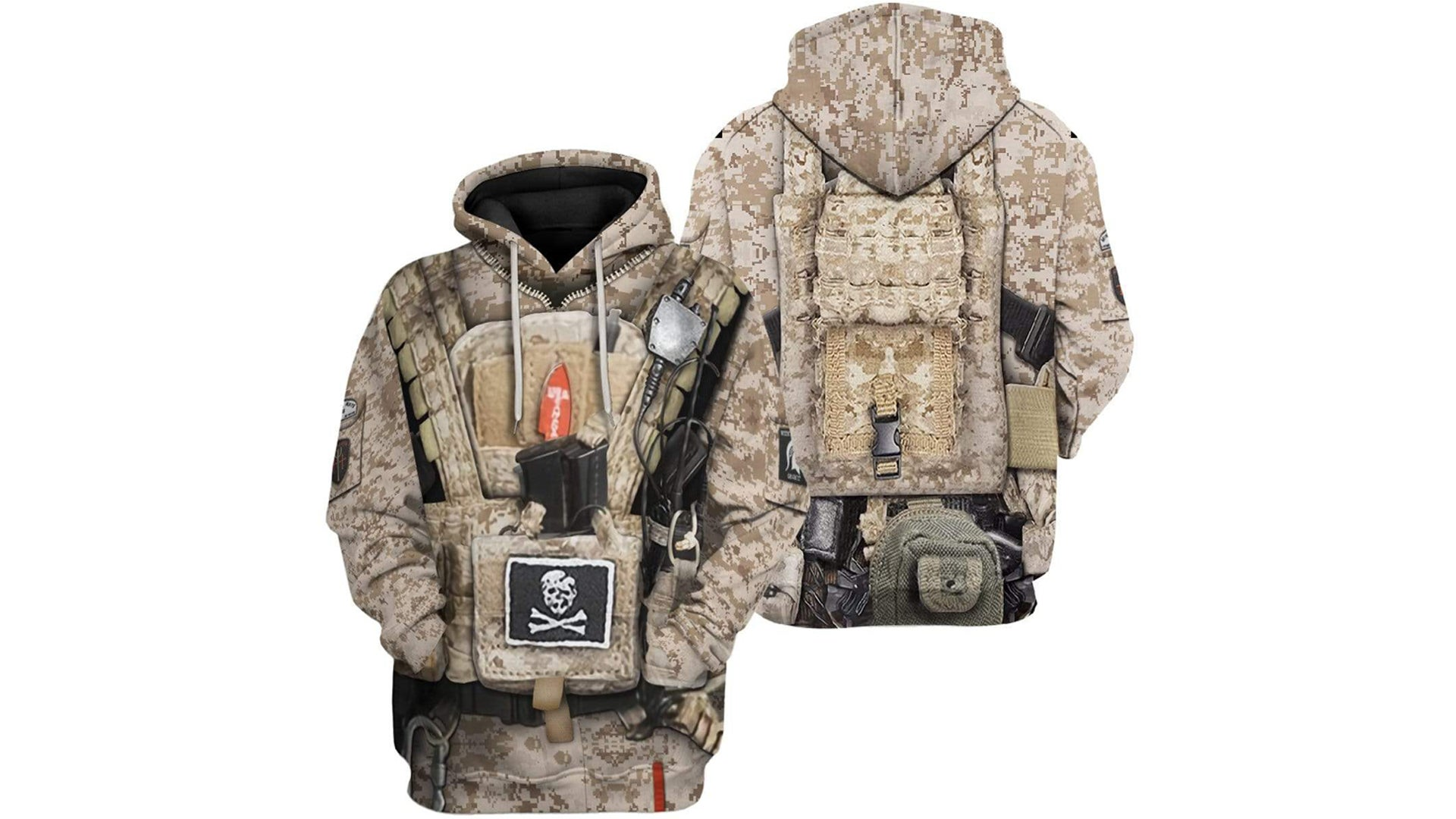 This $50 SEAL Team 6 hoodie is for silent — but loudly dressed — professionals. Book deal not included