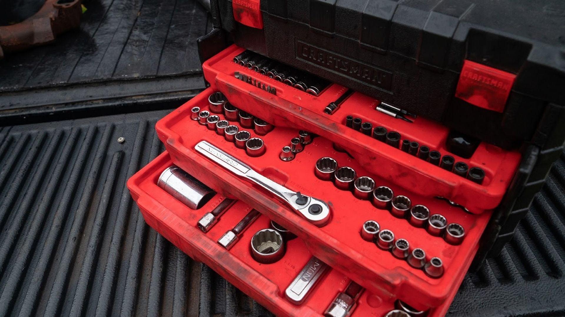 Craftsman 3 Drive Mechanics Tool Box