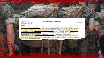 marine charge sheet