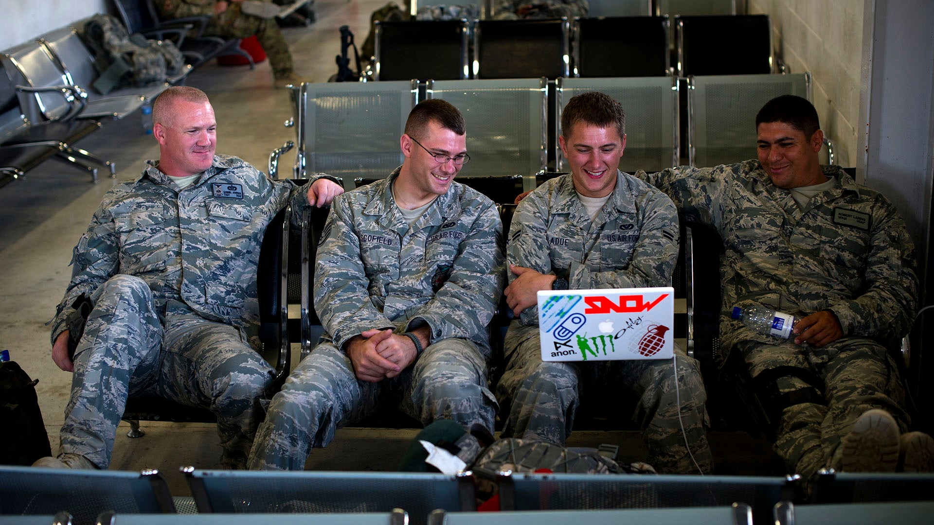What movies or shows did you watch on deployment?