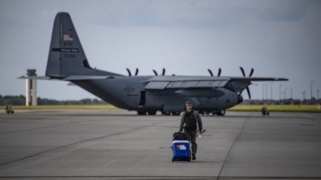 The scariest flight imaginable: Why Air Force pilots fly straight into hurricanes