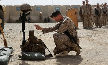 I'll never forget the Marine memorial ceremonies I attended in Fallujah