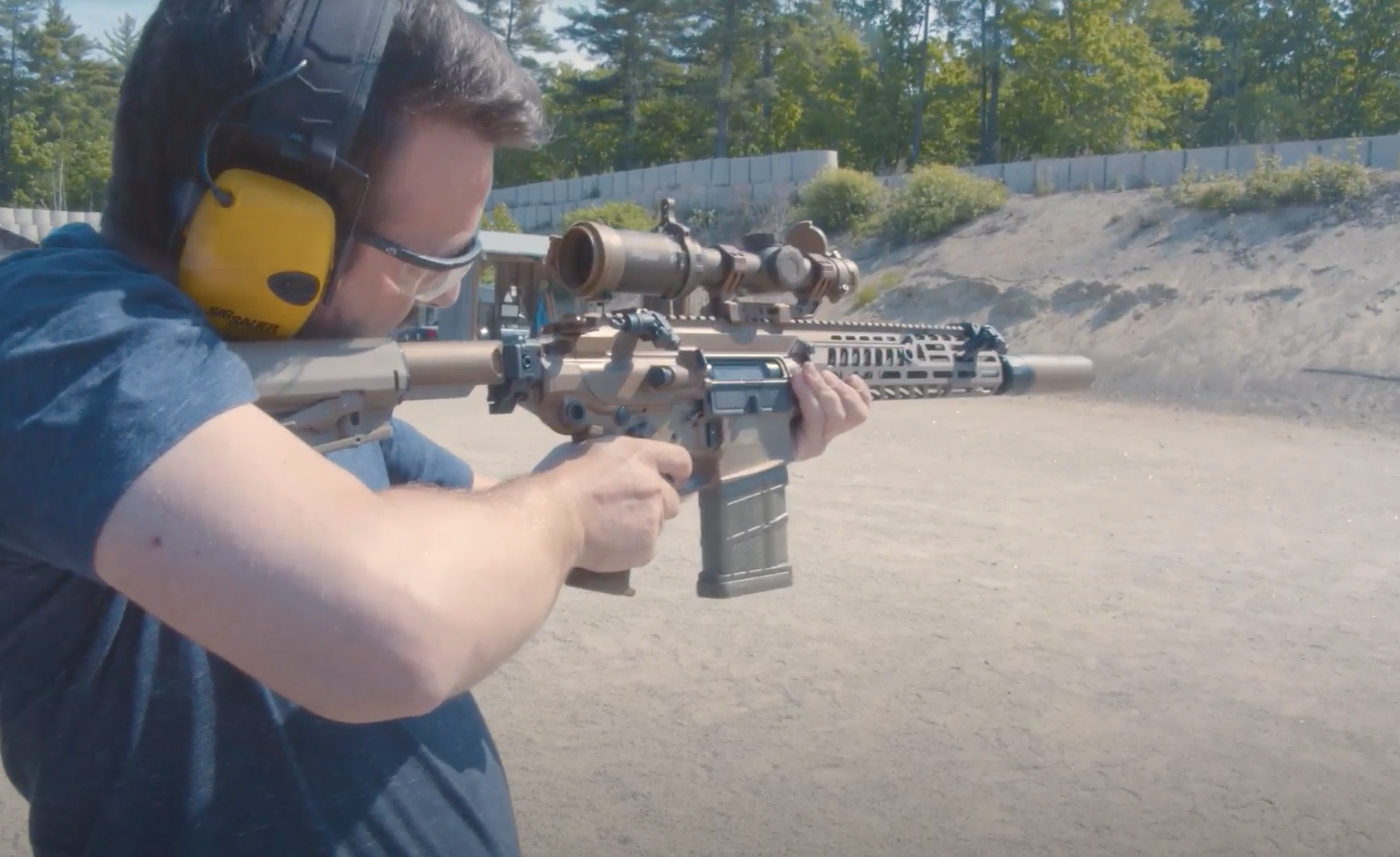 We got our hands on Sig Sauer's Next Generation Squad Weapon prototypes. Here's what they're like