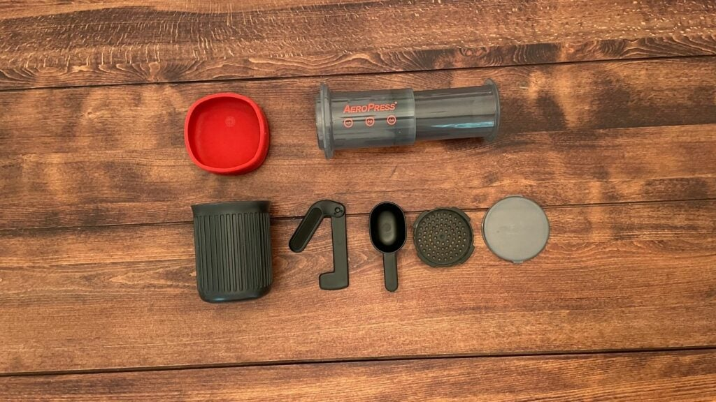 Review: the AeroPress Go travel coffee press will get you fired up in the field