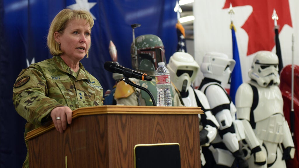 The Space Force is unsure of who the good guys are in 'Star Wars'
