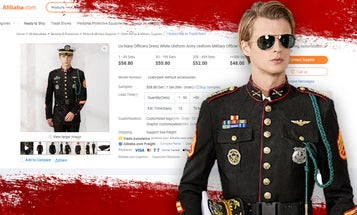 This Chinese-made US 'military officer uniform' is a crime against humanity (and uniform regulations)