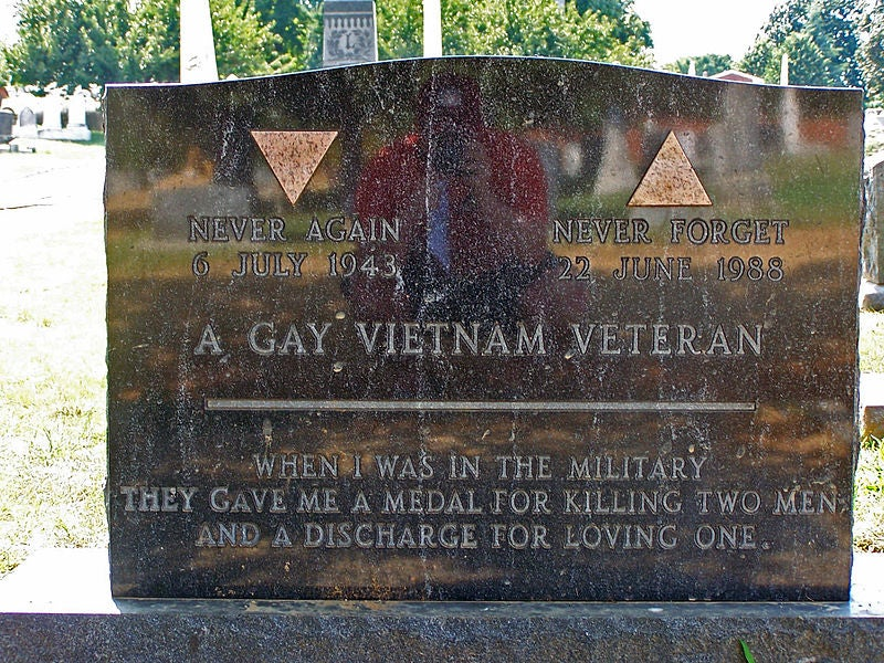 Air Force honors gay rights icon the service kicked out in 1975
