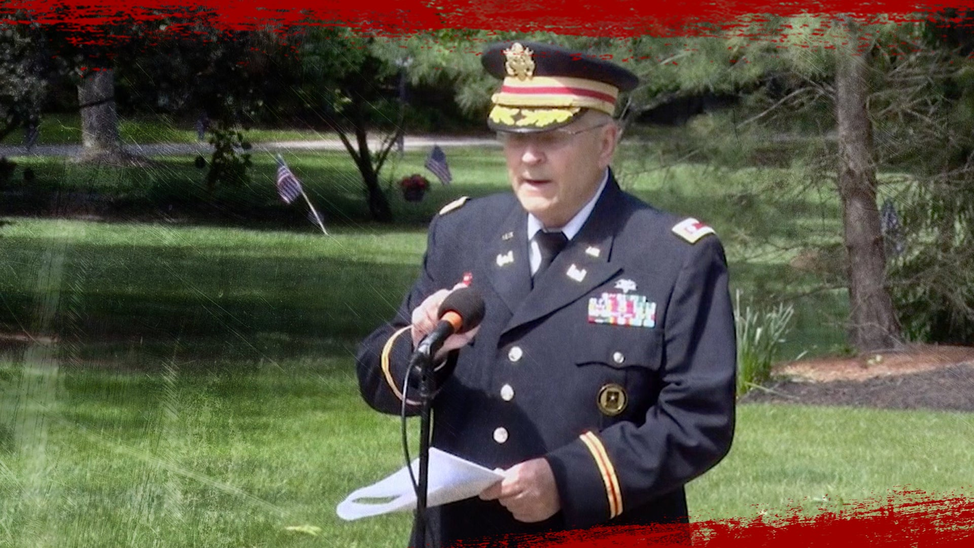 2 officials have resigned after veteran's mic was cut during Memorial Day speech