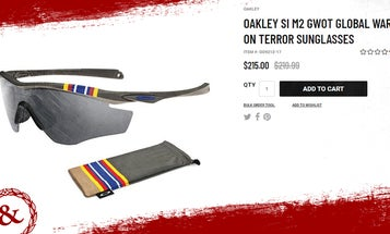 These Oakley sunglasses are a $215 GWOT participation trophy, and they used the wrong ribbon