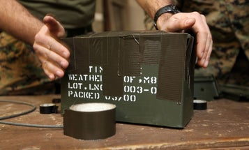 Duct tape keeps the military going. What have you fixed with it?