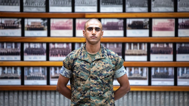 Marine Corps Drill Instructor from Baghdad