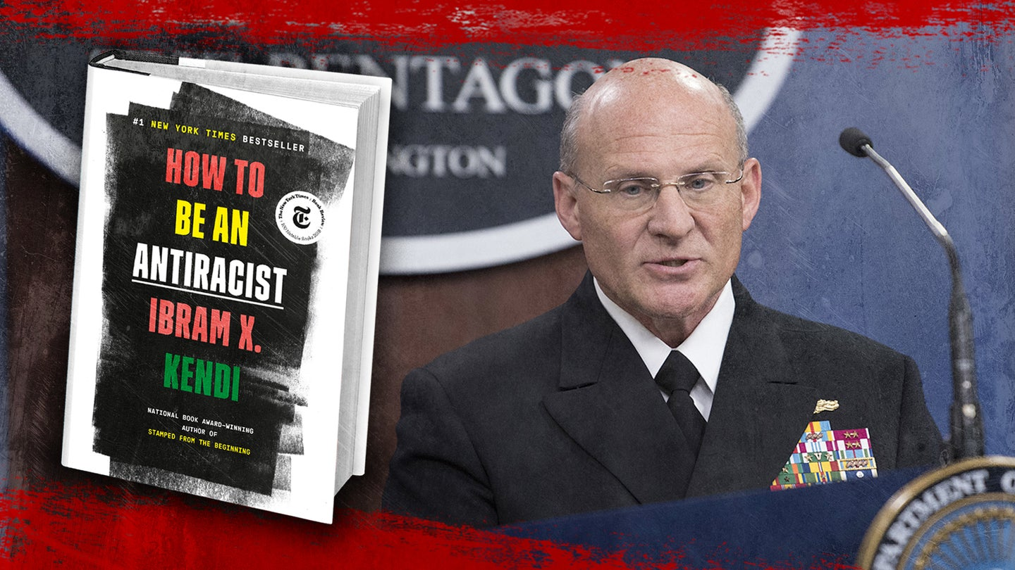 Navy reading list becomes latest battle in the 'woke military' war
