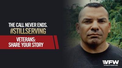 For veterans, service never stops
