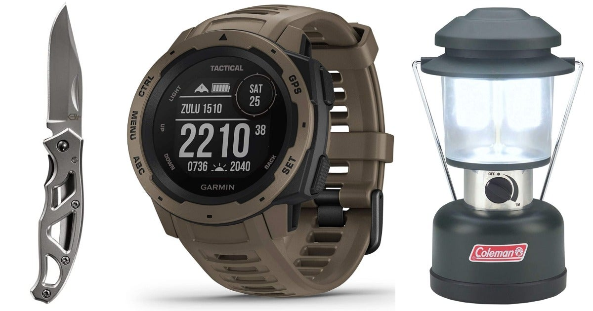 Amazon Prime Day 2021: Garmin smartwatches, Coleman camping gear, and other sweet deals