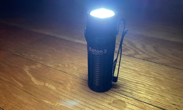 Review: Practically a lightsaber, the Olight Baton 3 flashlight gets it done in the dark