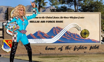 Why Nellis Air Force Base held its first ever drag show