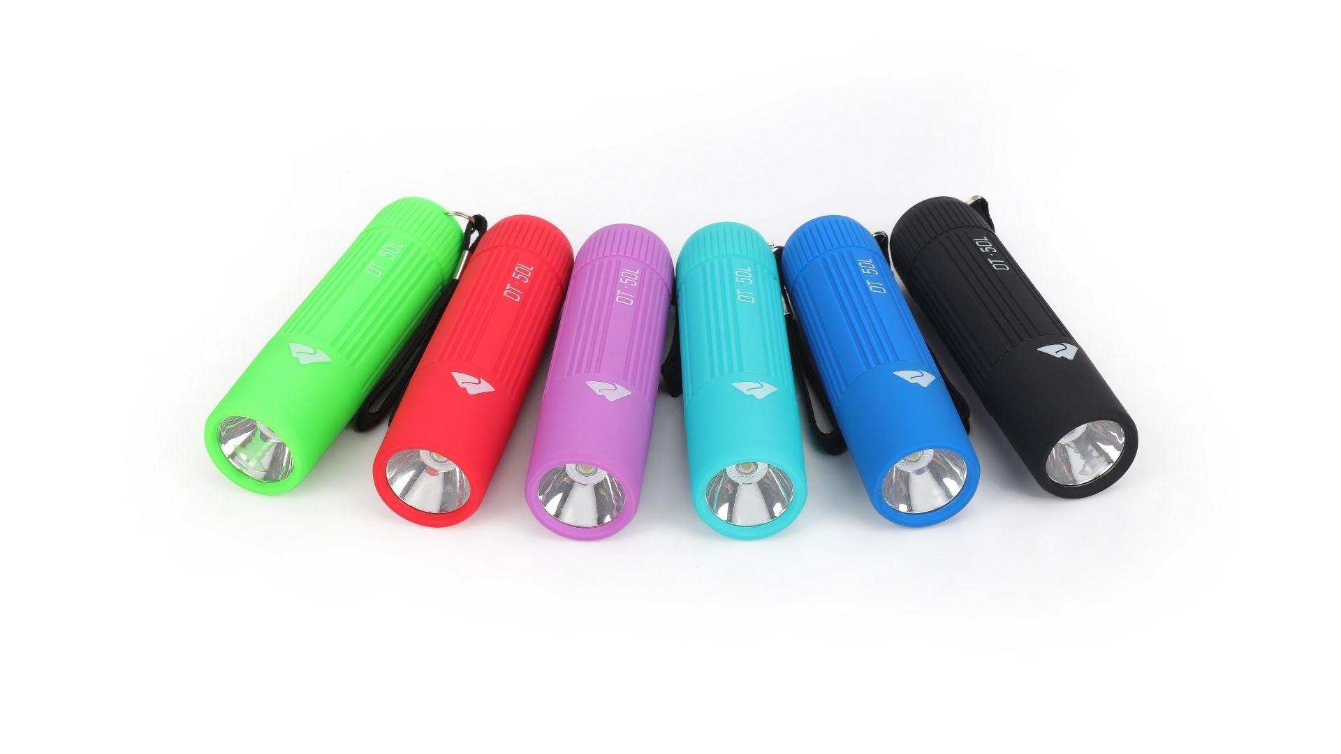 Ozark Trail Single Mini Handheld LED Flashlight, 50 Lumens