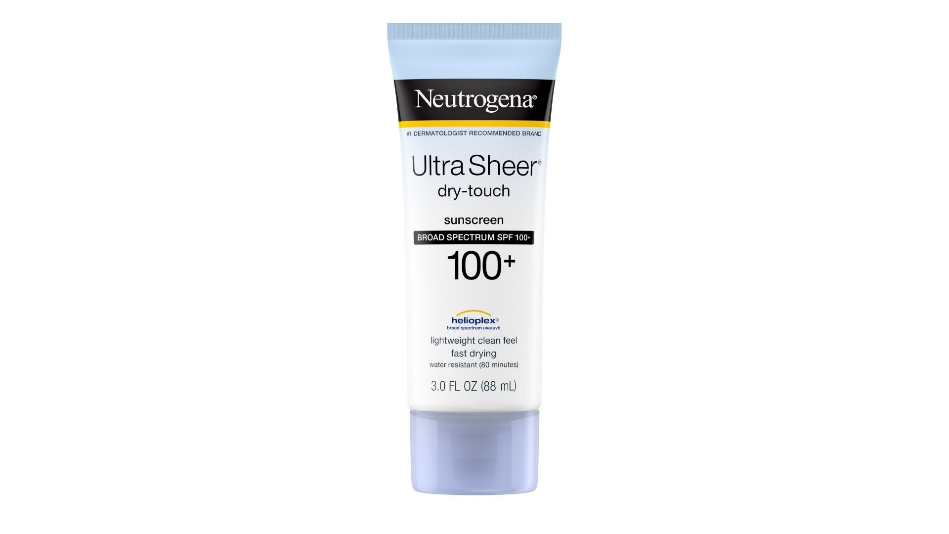 Neutrogena Ultra Sheer Dry-Touch SPF 100 Sunscreen, 3 oz