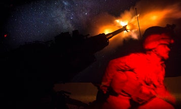 US troops return artillery fire after base in Syria hit by 'multiple rockets'