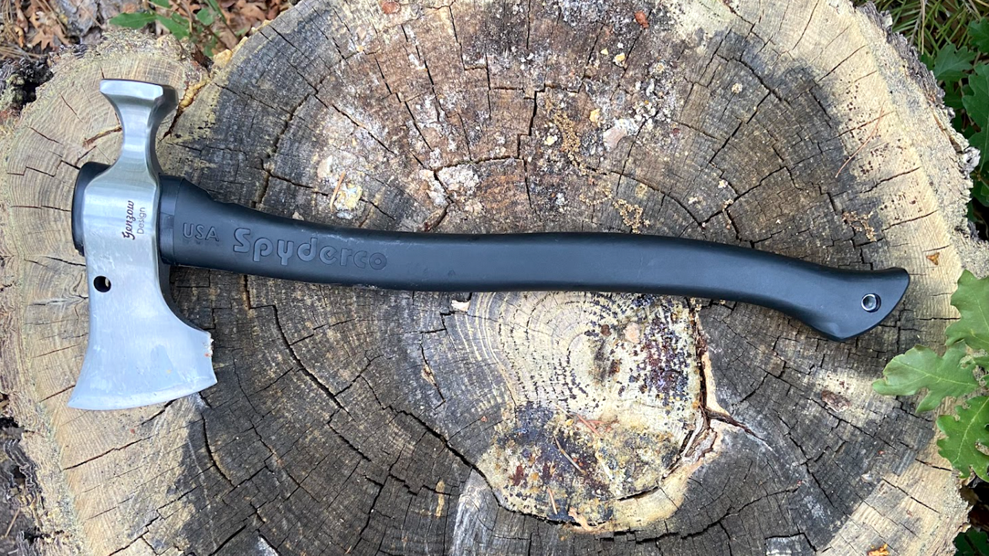 Review: the Spyderco Genzow HatchetHawk is a mighty, flawed hatchet