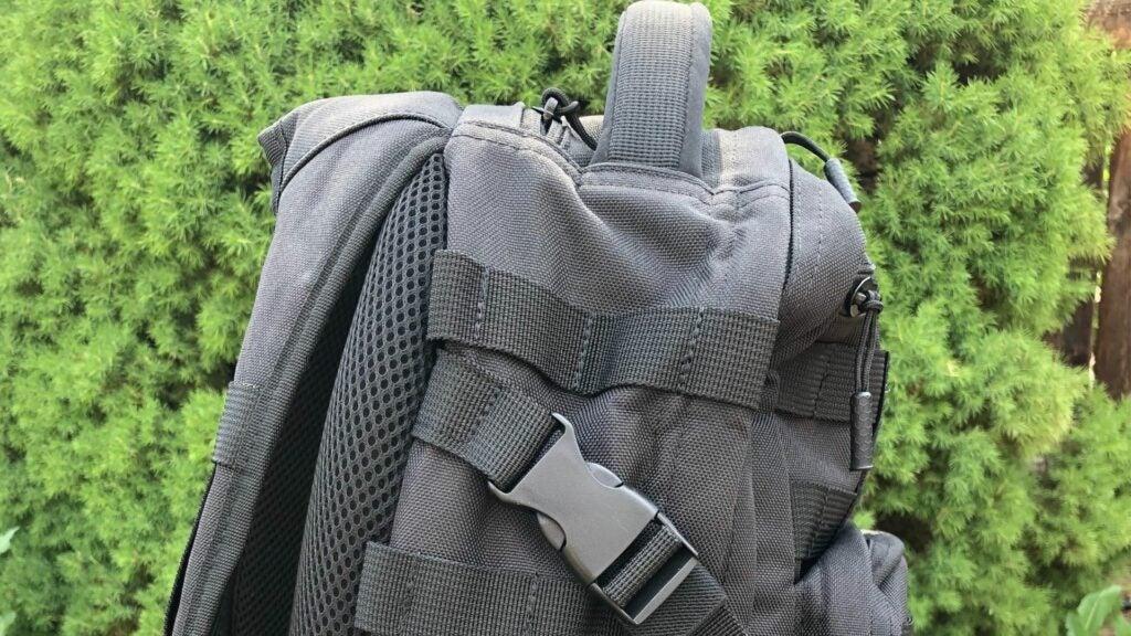 The Samurai Tactical Wakizashi tactical backpack
