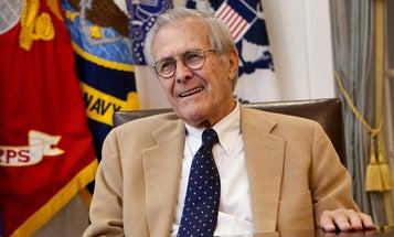 Former Defense Secretary Donald Rumsfeld dies at 88 [Updated]