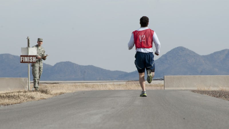 Why the Air Force will allow airmen to walk instead of run on their fitness tests