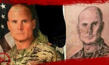 How a command sergeant major's face wound up as a tattoo on a soldier's leg