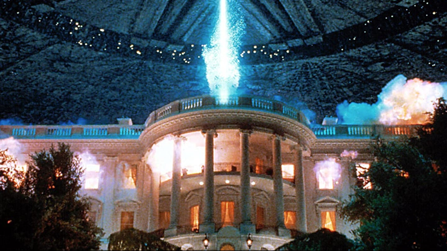 On the 25th anniversary of 'Independence Day,' how would the military really fare against aliens?