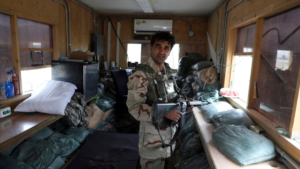 Pentagon says it 'coordinated' with Afghan forces that had no idea US troops left its largest base in Afghanistan