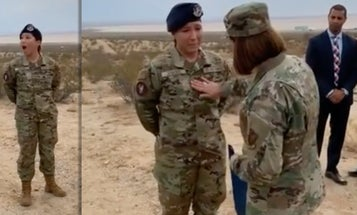 Meet the airman who got a surprise promotion from the Air Force's top enlisted leader