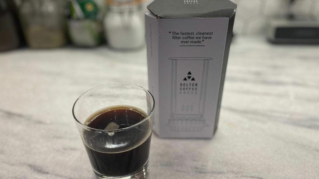The Delter coffee press