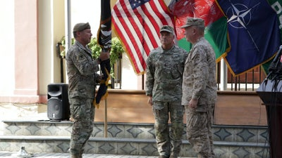 Longest-serving US commander in Afghanistan steps down amid troop withdrawal