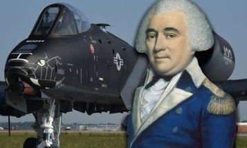 Meet the 'Mad' Revolutionary War general who inspired this badass A-10 paint job