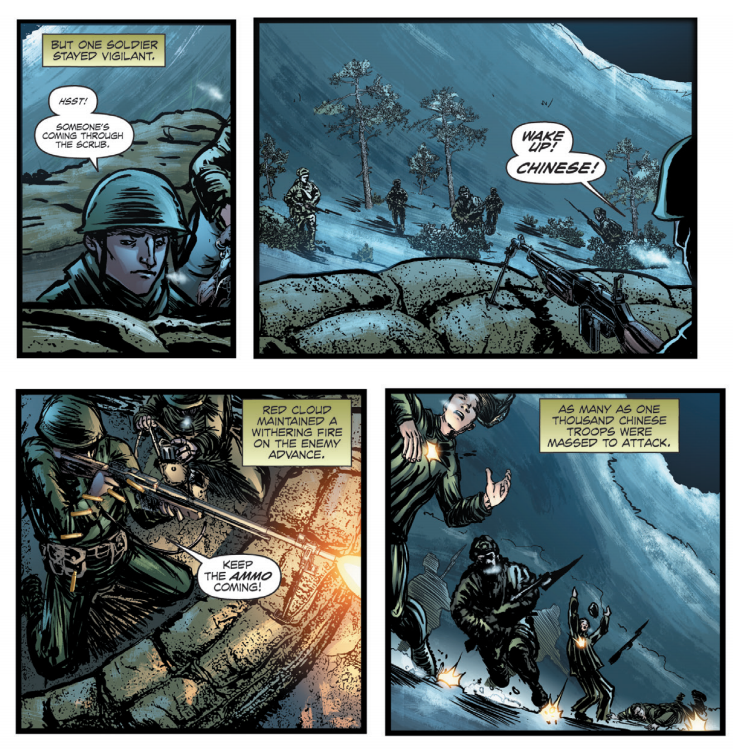 Native American Korean War hero who gave his life for his men gets the graphic novel he deserves