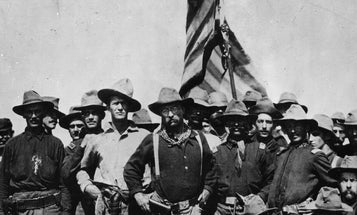 Teddy Roosevelt and the formation of the famous Rough Riders