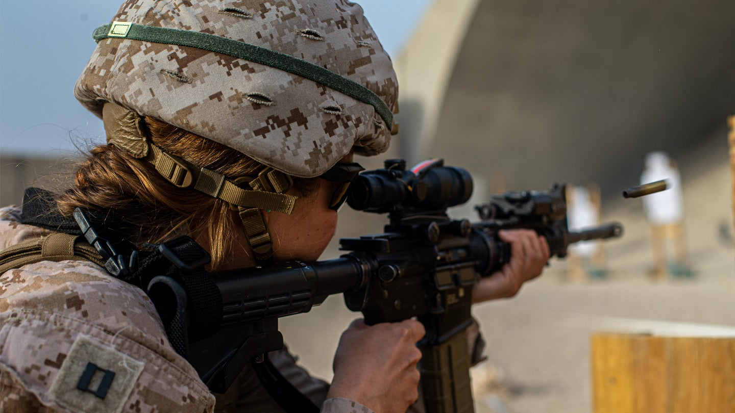 The Marine Corps is now the only service not allowing women to wear ponytails in uniform