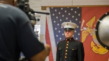 marine corps boot camp photo