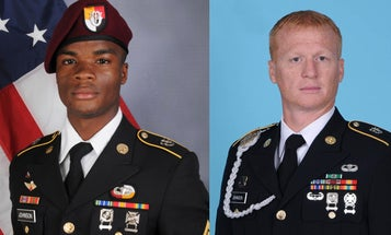 In rare move, Army names 2 soldiers killed in 2017 Niger ambush honorary Green Berets