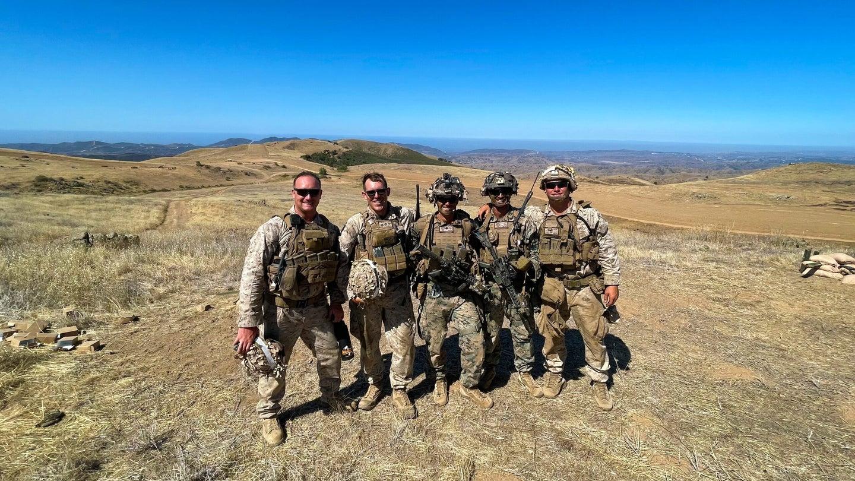us marines at range 800 camp pendleton