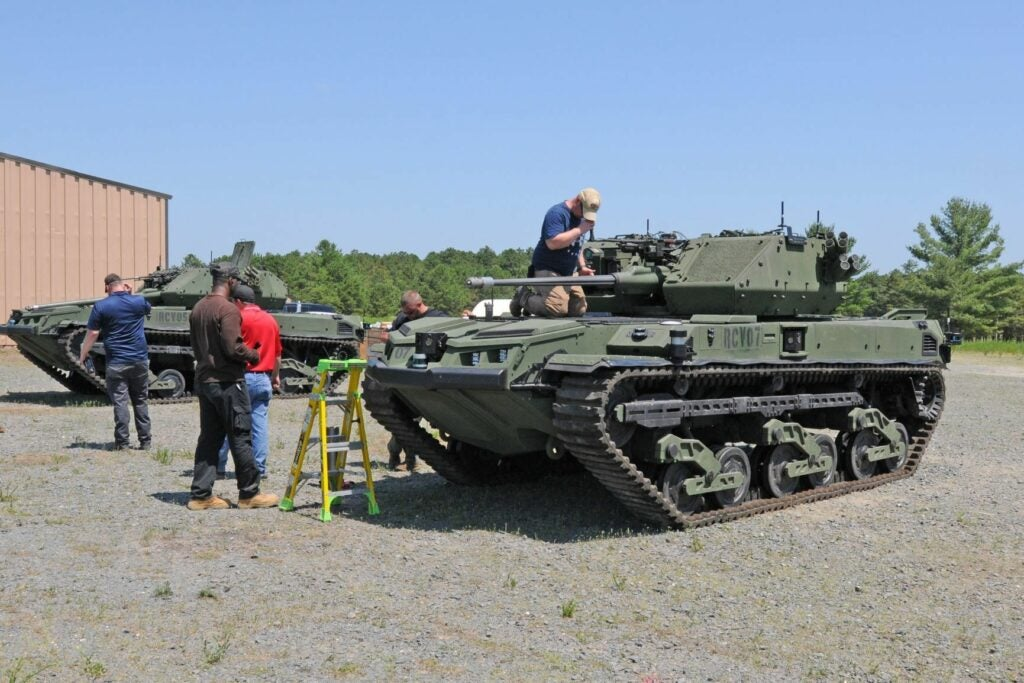 The Army is testing a robot mini-tank straight out of 'Fast and the Furious'