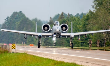 Air Force A-10s just made a 'highway to the danger zone' in Michigan