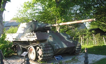 Safety brief: Don't hide a WWII-era Panther tank in your basement