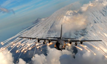 The US is sending B-52s and AC-130 gunships back in Afghanistan to slow its impending collapse