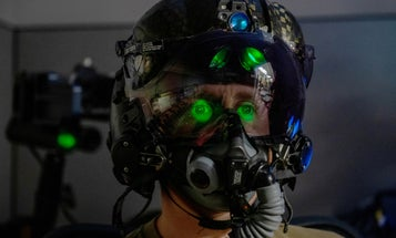 An F-35 pilot's helmet costs more than a Ferrari and takes two days to get fitted