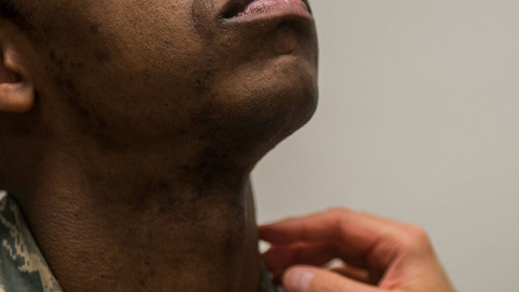 Airmen with shaving waivers will have to shave every week at Moody Air Force Base